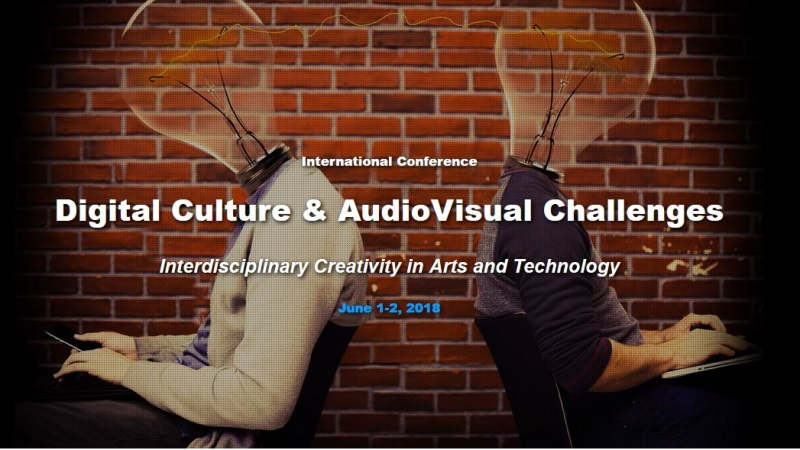Call For Papers. Corfu, The International Conference on Digital Culture & AudioVisual Challenges. Deadline 8 April, 2018
