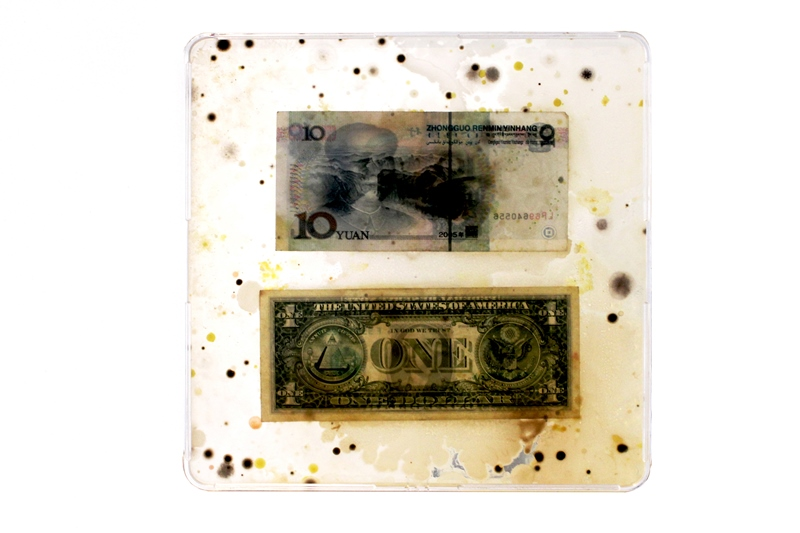 Berlin, Art Laboratory Berlin. Ken Rinaldo. Borderless Bacteria / Colonialist Cash
