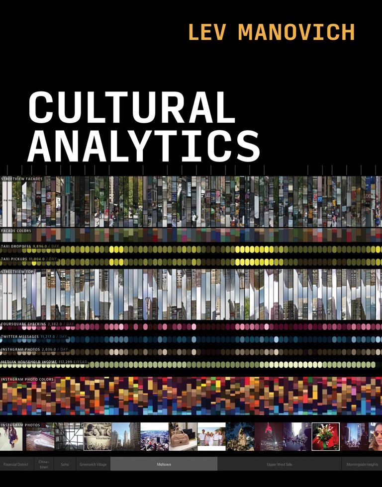 Lev Manovich, Cultural Analytics. The MIT Press