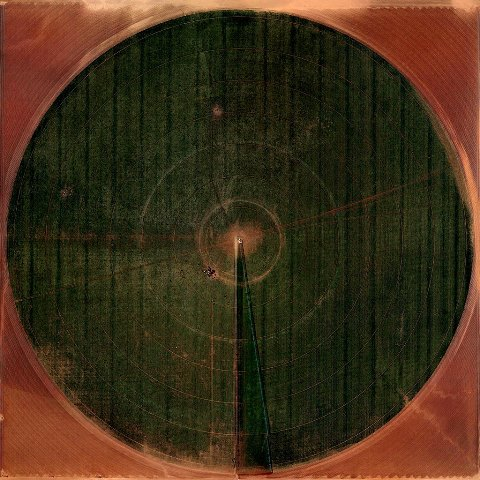 Marco Cadioli, Square with Concentric Circles